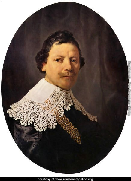 Portrait of Philips Lucasz 1635