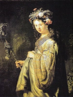 Rembrandt - Portrait of Saskia 1635