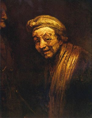 Rembrandt - Self-Portrait 8