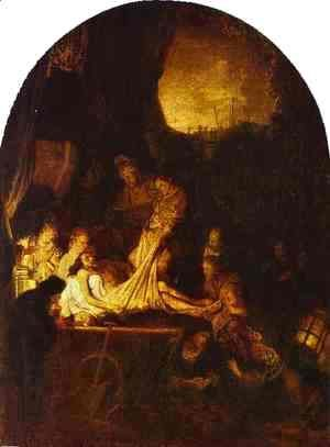 Rembrandt - The Entombment