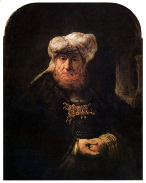 Rembrandt - The King Uzziah Stricken with Leprosy