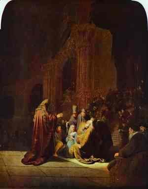 Rembrandt - The Presentation of Jesus in the Temple