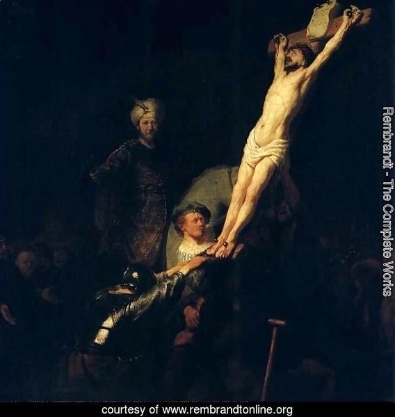 The raising of the cross,munich 1633