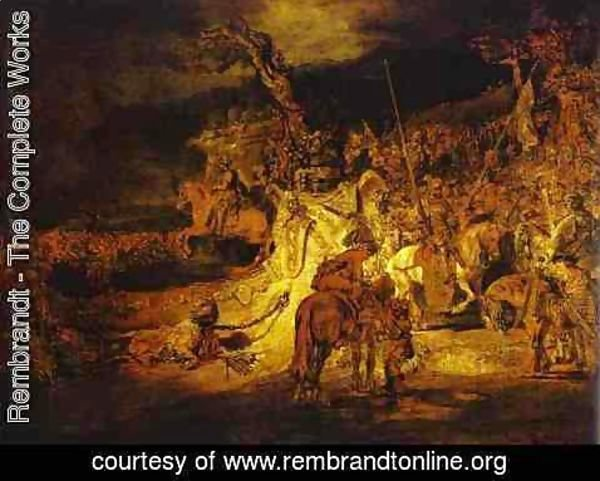 Rembrandt - The Unity (Agreement) in the Country