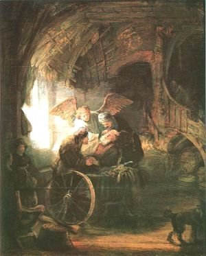 Rembrandt - Tobias Returns Sight to His Father
