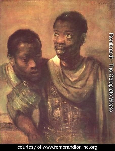 Rembrandt - Two Negroes