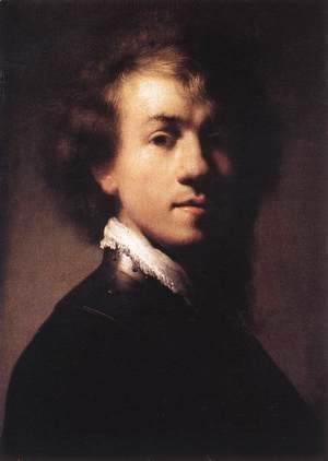 Rembrandt - Self-Portrait with Lace Collar