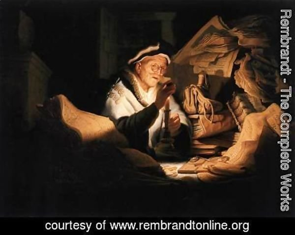 Rembrandt - The Money Changer