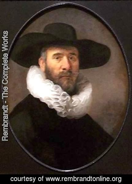 Portrait of Dirck Pesser
