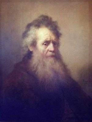 Rembrandt - Portrait of an Old Man 3