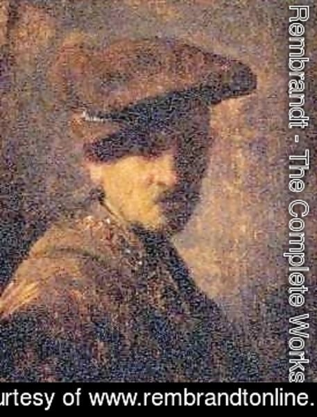 Rembrandt - Self Portrait 9