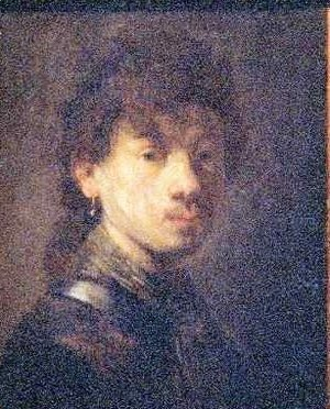 Rembrandt - Self Portrait 3