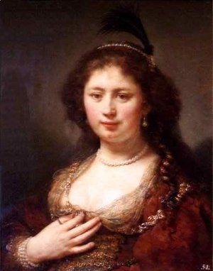 Rembrandt - Lady with a Plume