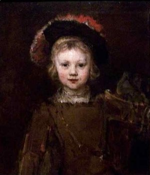 Rembrandt - Portrait of a Boy Presumed to be the Artists Son Titus