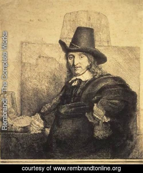 Rembrandt - Portrait of the Painter Jan Asselyn