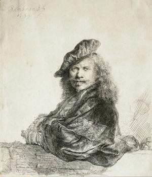 Rembrandt - Self-Portrait 10