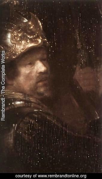 Rembrandt - The Nightwatch (detail) 5