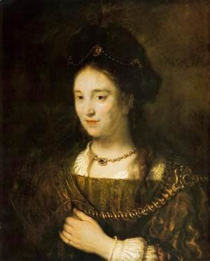 Rembrandt - Saskia, the Artist's Wife