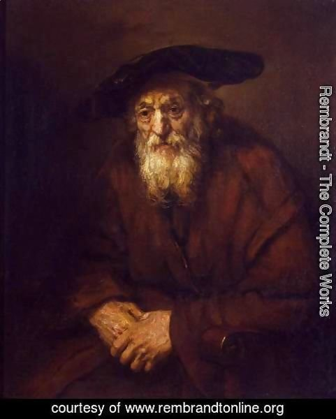 Rembrandt - Portrait of an Old Jew