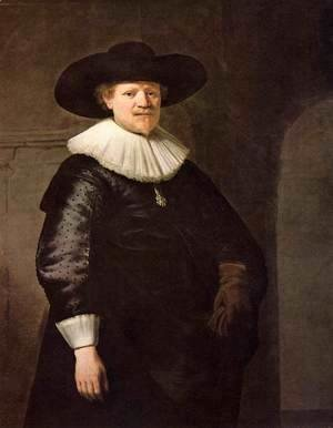Rembrandt - Portrait of the Writer Jan Hermansz. Krul