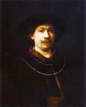 Rembrandt - Self-Portrait 4