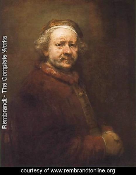 Rembrandt - Self-Portrait 6