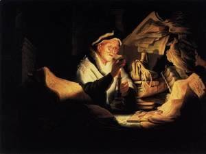 Rembrandt - Parable of the Rich Man 2