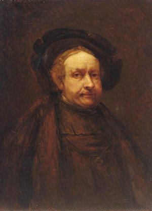Rembrandt - Self-portrait 20