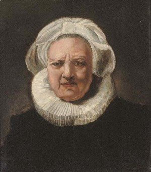 Rembrandt - Portrait of an old woman, aged 83