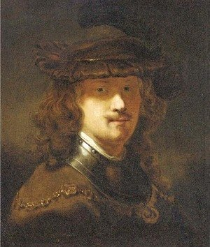 Portrait of Rembrandt, half-length