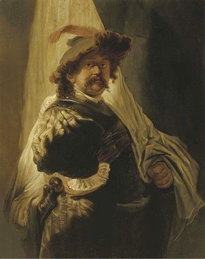 Rembrandt - Portrait of the artist