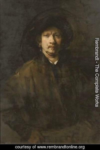 Rembrandt - Portrait of the artist 2