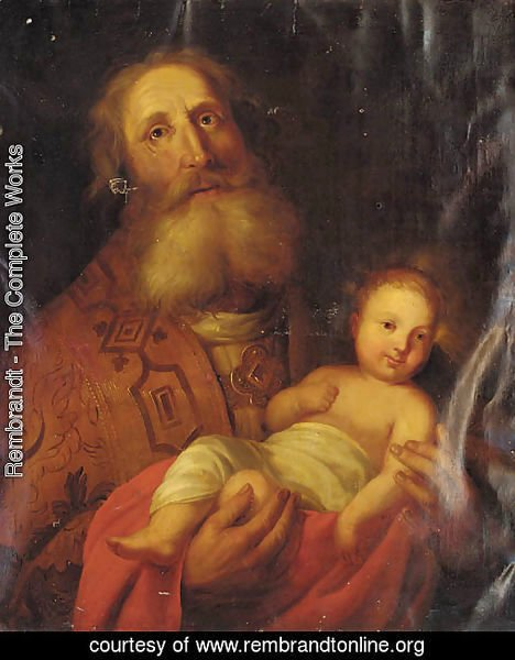 Joseph and the Christ Child