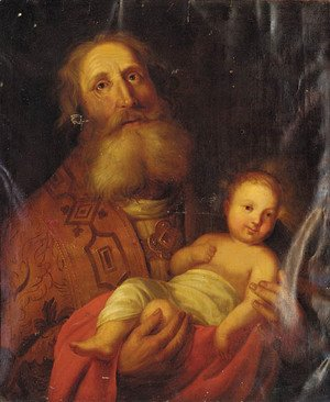 Rembrandt - Joseph and the Christ Child