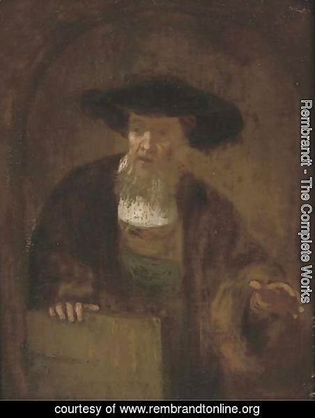 Portrait of an old man 4