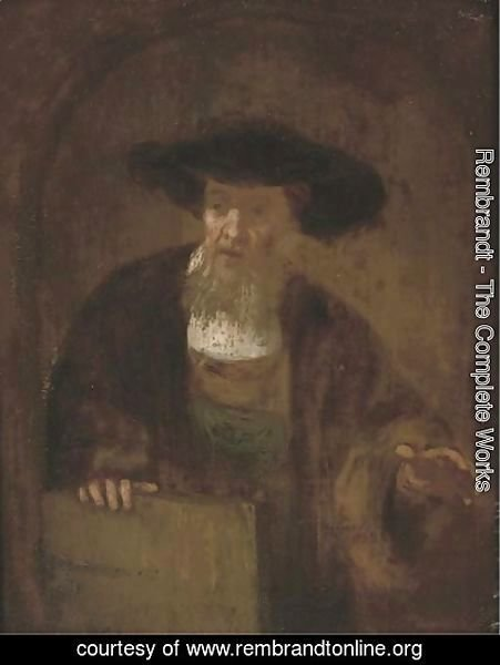 Rembrandt - Portrait of an old man 4
