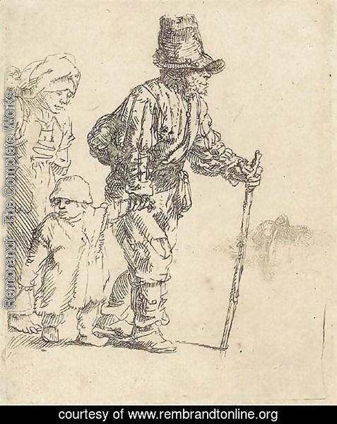 A Peasant Family on the Tramp