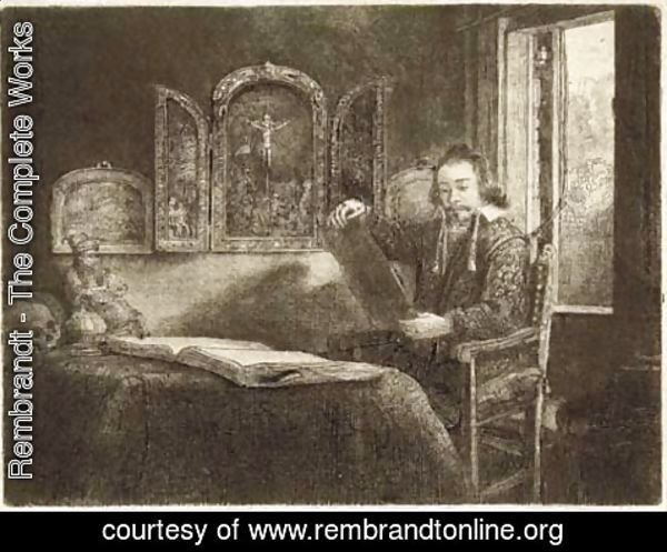 Rembrandt - Abraham Francen, Apothecary
