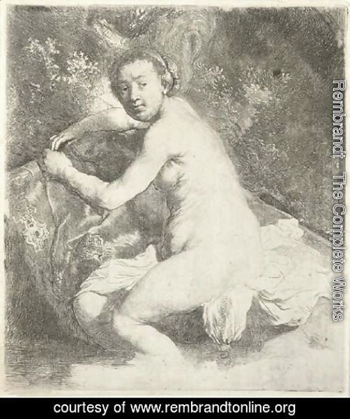 Rembrandt - Diana at the Bath