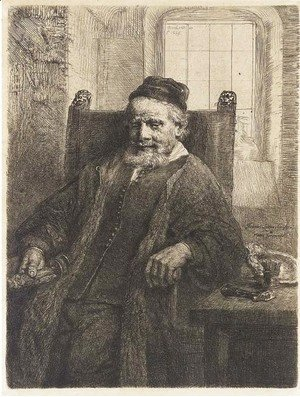 Rembrandt - Jan Lutma, Goldsmith