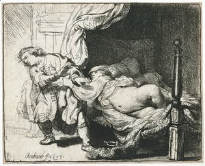Rembrandt - Joseph and Potiphar's Wife