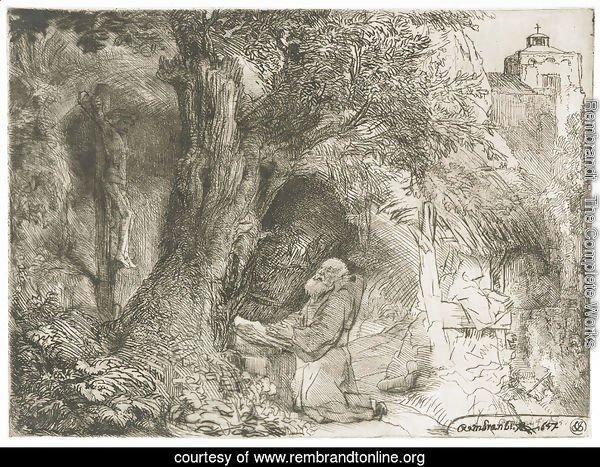Saint Francis beneath a Tree praying