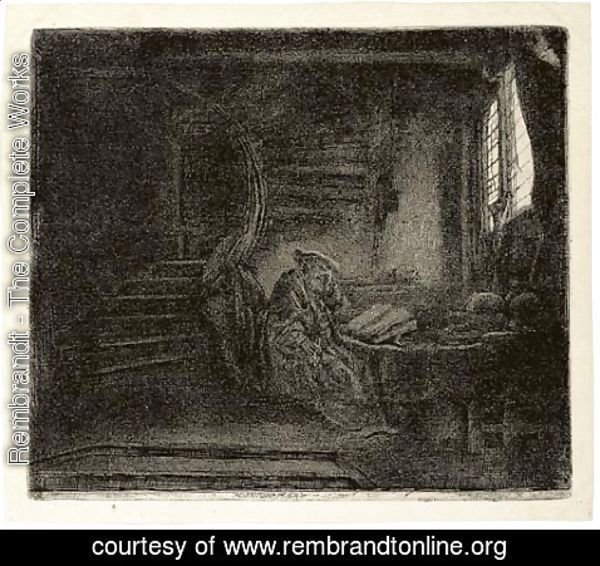 Rembrandt - Six later impressions