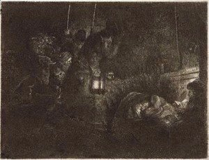 The Adoration of the Shepherds A Night Piece