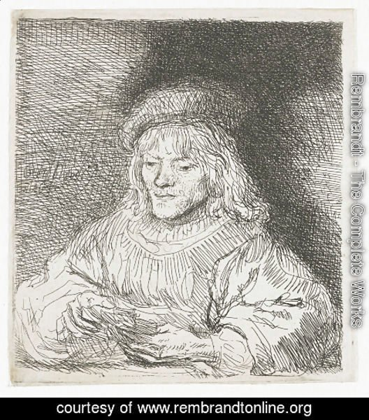 Rembrandt - The Card Player