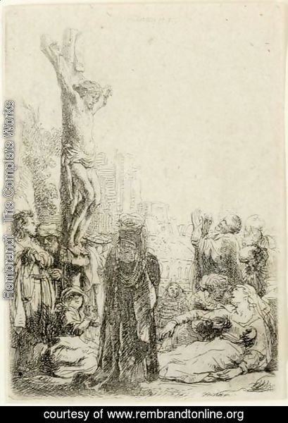 Rembrandt - The Crucifixion Small Plate