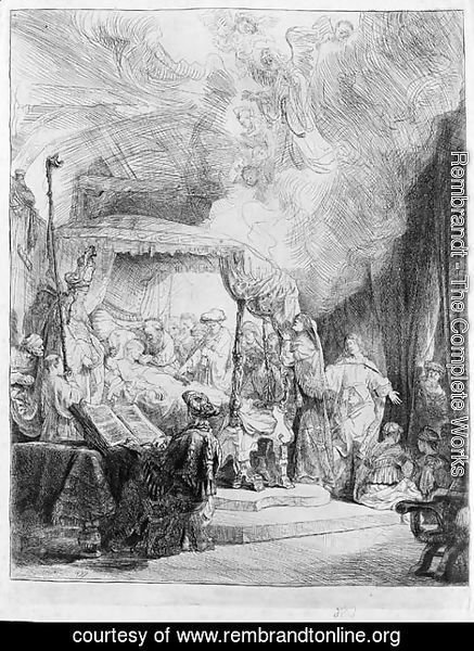 Rembrandt - The Death of the Virgin