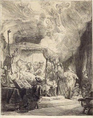 Rembrandt - The Death of the Virgin 2
