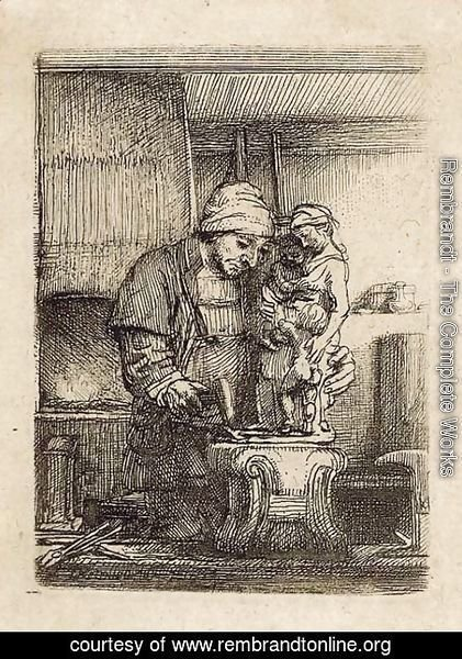 Rembrandt - The Goldsmith
