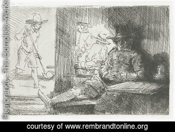 Rembrandt - The Golf Player